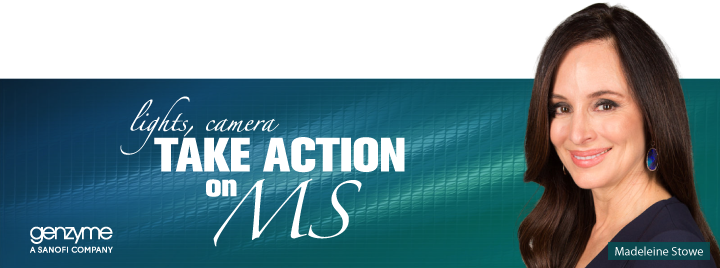Lights, camera, take action on MS