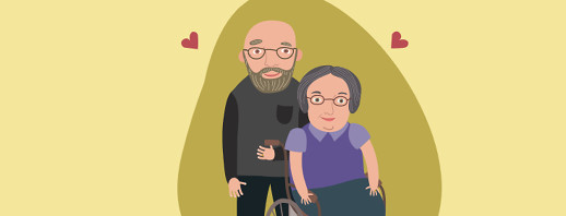 The Few, the Proud, the MS Spouse Caregivers image