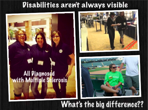 What is a disability in people's eyes?