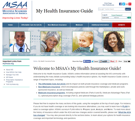 my health insurance guide
