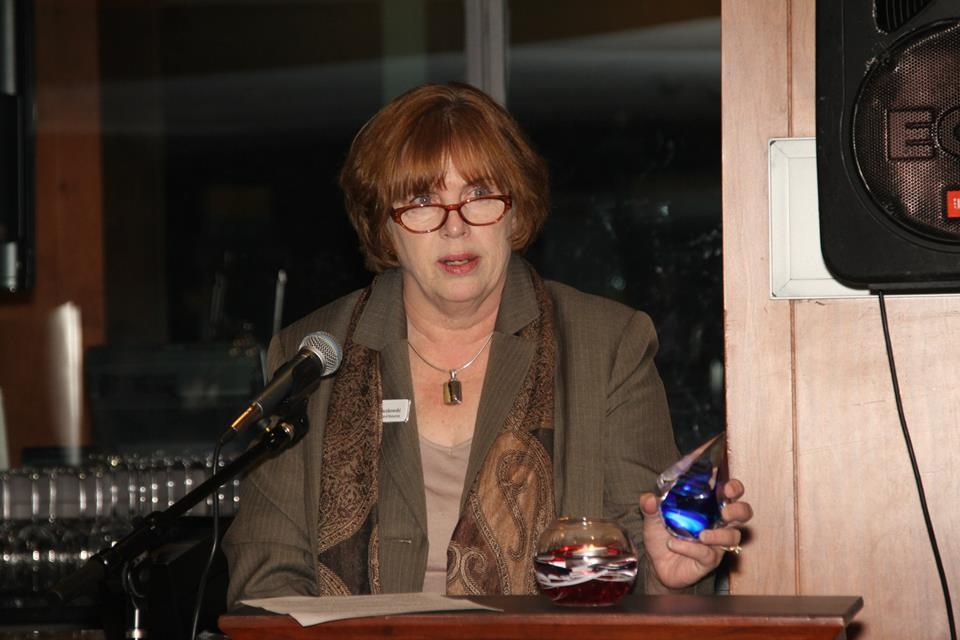 Laura podium Fenway