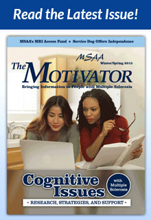 Read the latest issue of MSAA's magazine The Motivator