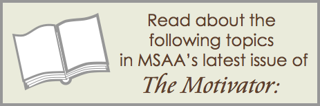 Read about the following topics in the latest issue of The Motivator