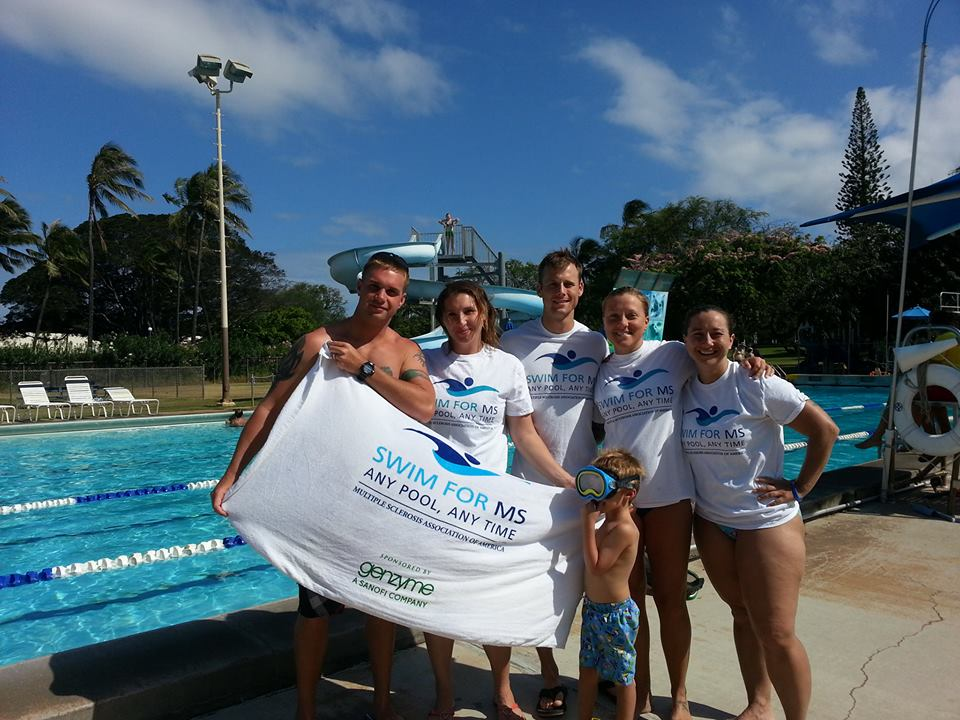 Team DragonFLY for Swim for MS