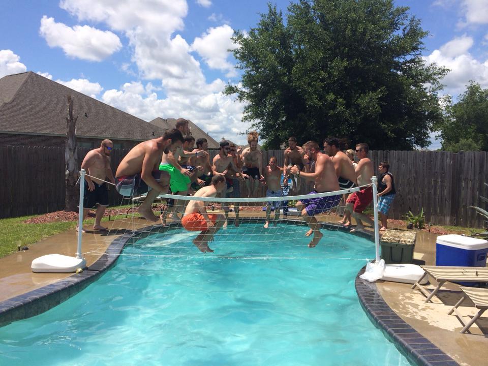 Cajun Cannonballs for Swim for MS