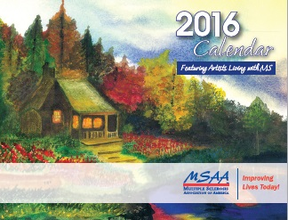 2016 MSAA Art Showcase Calendar