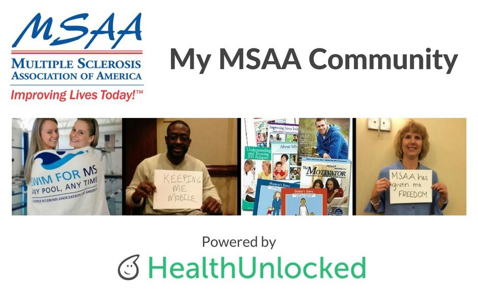 My MSAA Community powered by HealthUnlocked