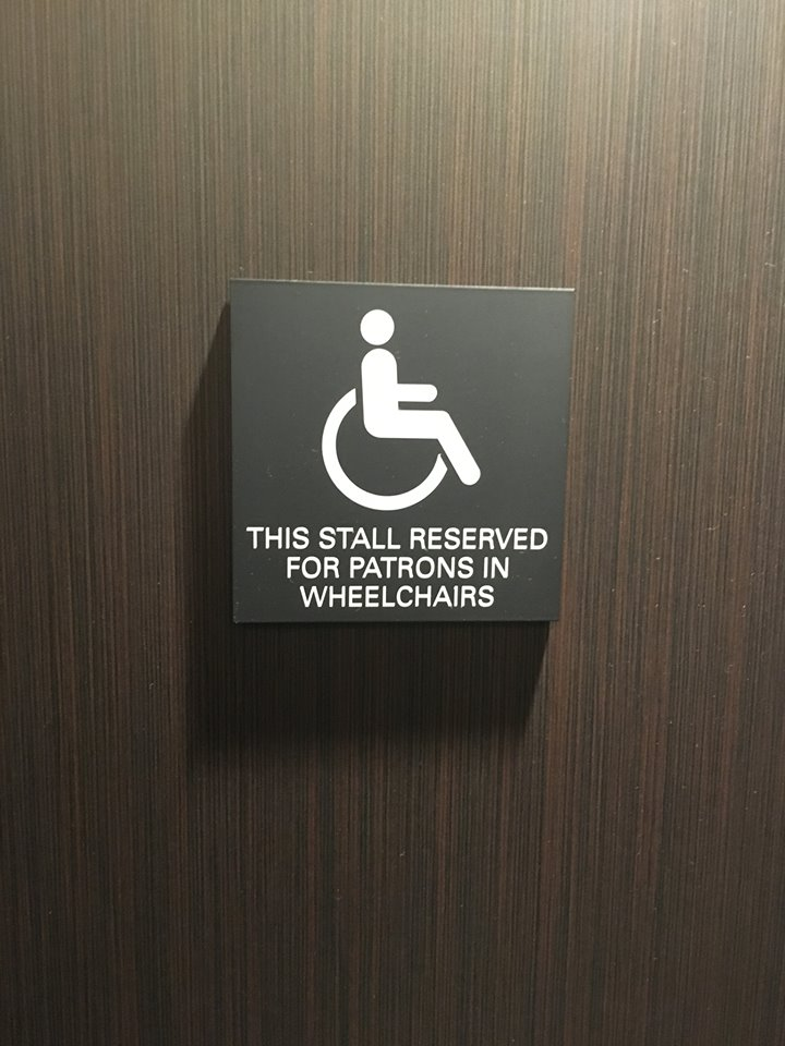 Bathroom Handicap Stalls etiquette for handicapped stalls - multiplesclerosis