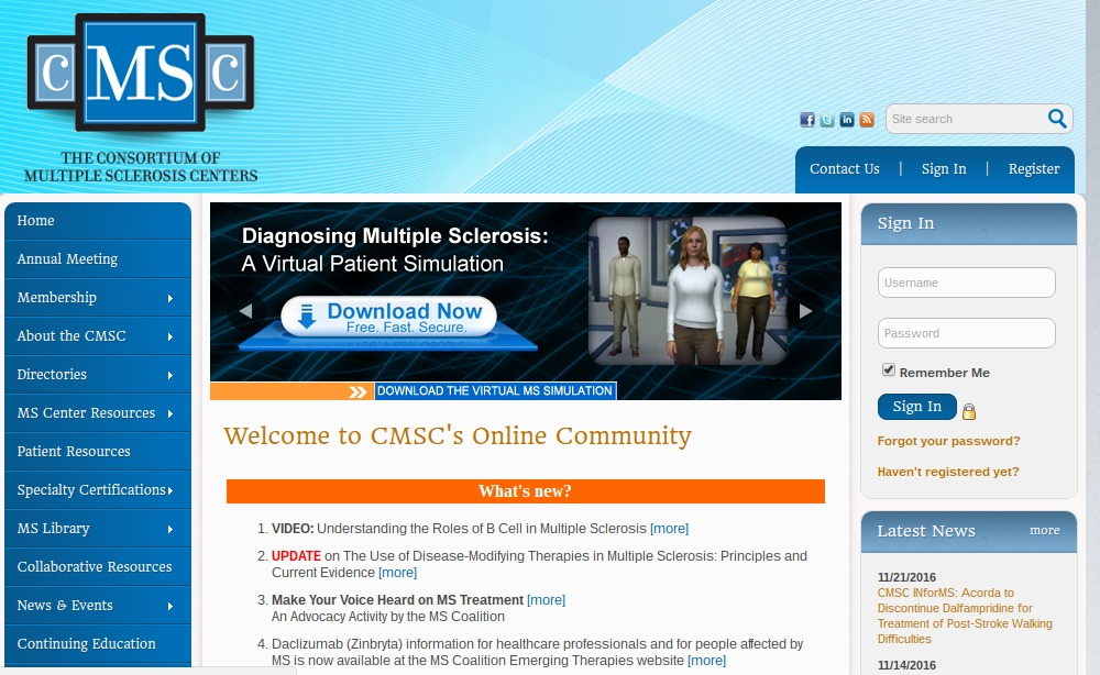 CMSC Screenshot