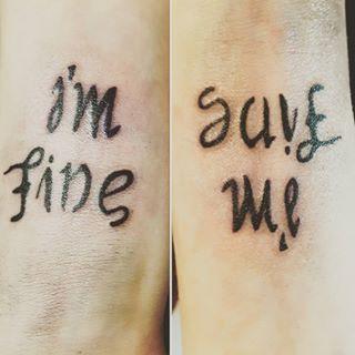 I'm fine. Save me.