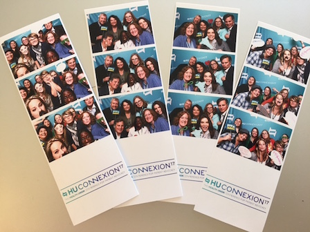 Photobooth pictures from HUConnexion2017
