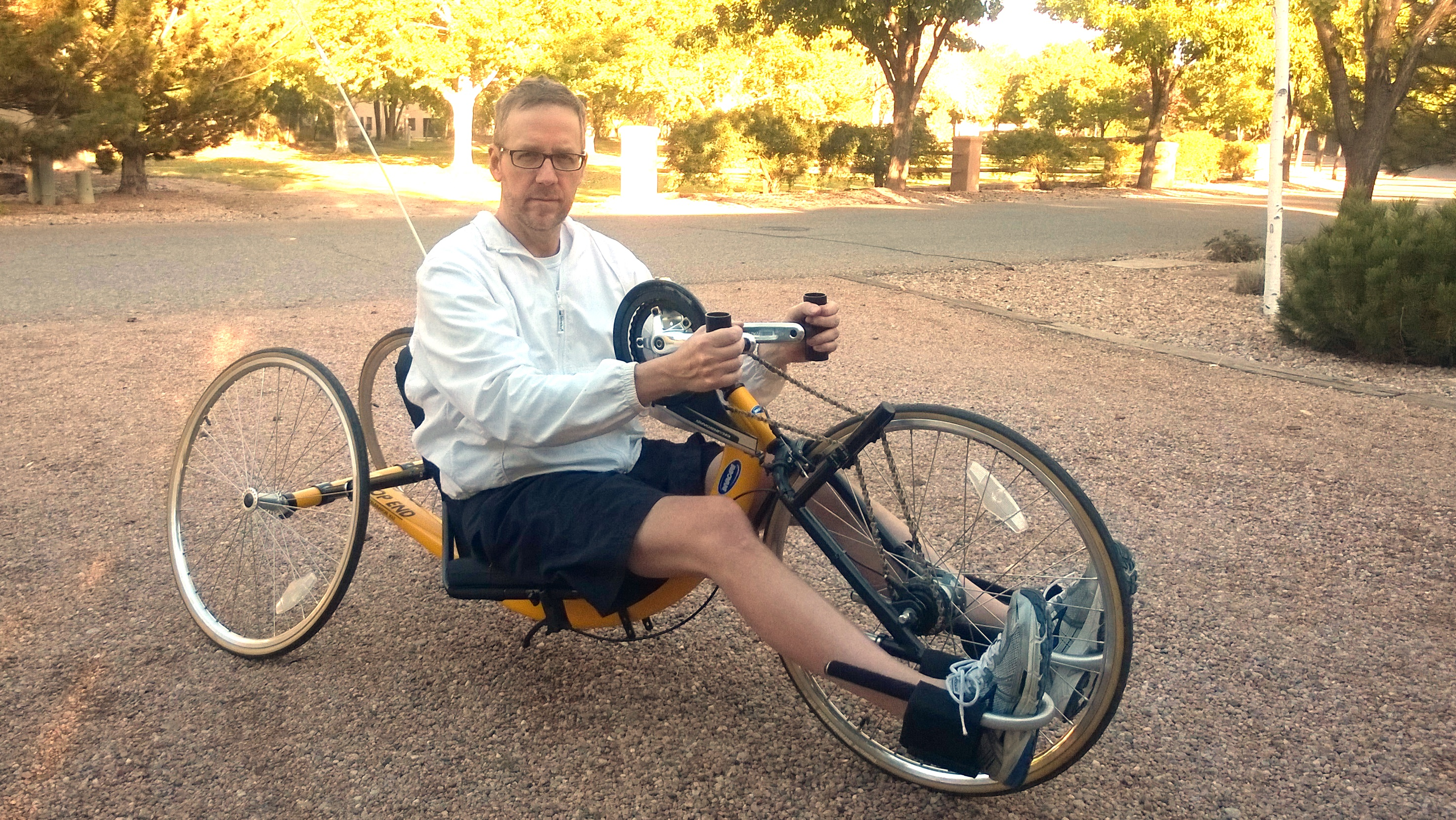 MultipleSclerosis.net community advocate David Bexfield