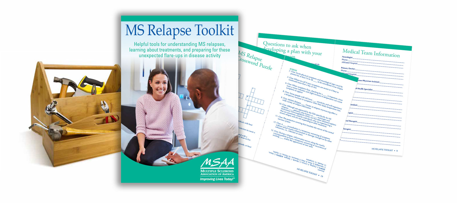 MS Relapse Toolkit - a published resource from MSAA