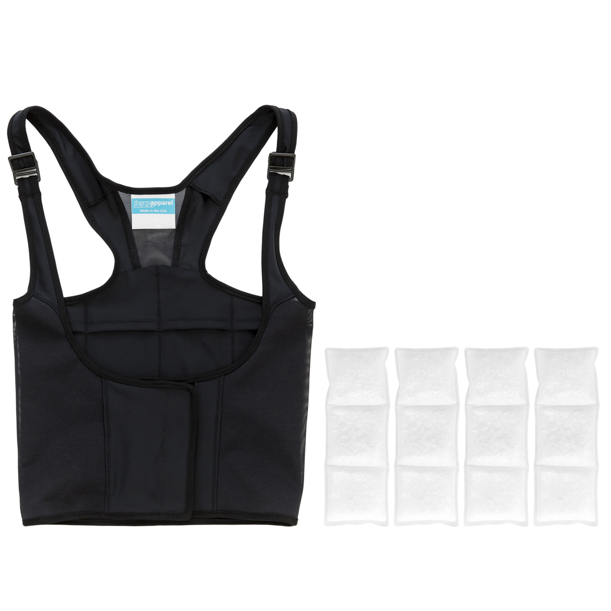UnderCool cooling vest in black