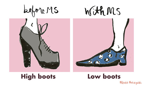 Footwear: Before MS and After Comic 4