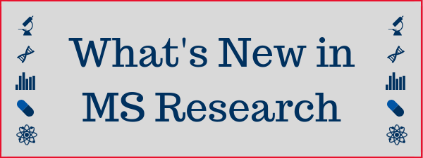 MS research update - new from MSAA