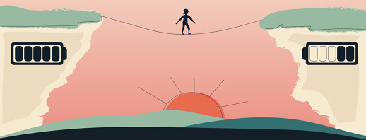 Walking The Tightrope Between Rest And Activity image